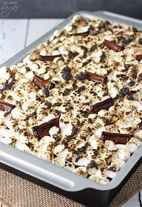 S'mores Icebox Cake - Life Love and Sugar
