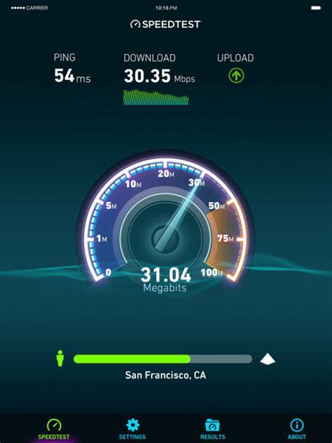 speed test iphone speedtest net speed test im app store