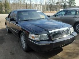salvage mercury grand marquis cars  sale  auction