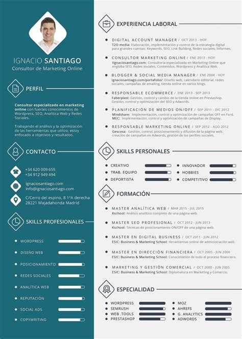 Cv Ideas by Best 25 Modelos De Curriculum Vitae Ideas On