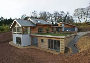 contemporary part earth sheltered split level house truro