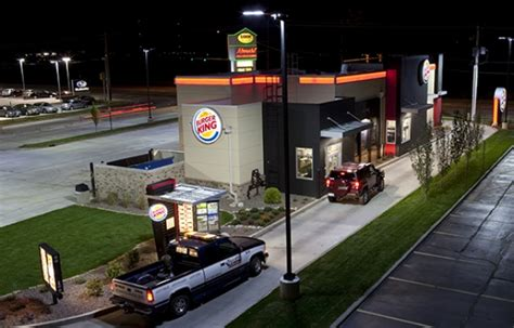restaurant led lighting case study burger king cree