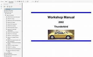 2002 Ford Thunderbird Wiring Diagram : 2002 ford thunderbird repair manual ~ A.2002-acura-tl-radio.info Haus und Dekorationen