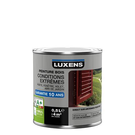 peinture bois leroy merlin peinture bois ext 233 rieur conditions extr 234 mes luxens blanc blanc n 176 0 0 5 l leroy merlin