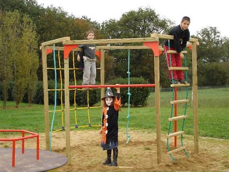 structures de jeux de parcours tous les fournisseurs grimpeur pour aire de jeu parcours
