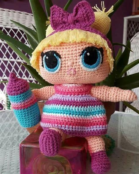 amigurumi lol surprise bonecas de croche bonecas  lol