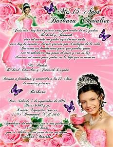 Tarjeta de Invitación 15 Años rosa con rosas y mariposas Artes DaVinci Ideas con Estilo