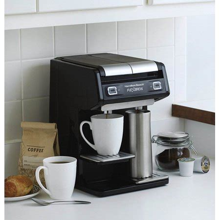 If you are looking for the best single cup coffee maker out there, you have come to the right place. Hamilton Beach Dual FlexBrew Single Serve Pods Grounds Coffee Maker Machine | Walmart Canada