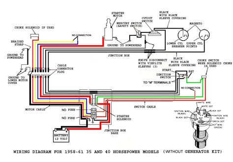 1959 35hp evinrude lark ignition wiring question page 1 iboats boating 653930