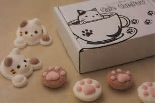 cat marshmallows cat inspired marshmallows design swan