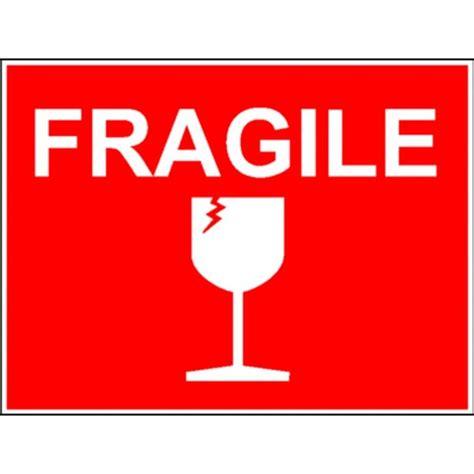bureau plaque de verre fragile etiquette stocksignes
