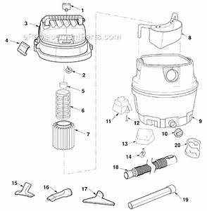 Ridgid Wd1450ex0 Parts List And Diagram