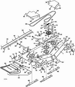 2004 322d Grasshopper Mower 61 U0026quot  Deck Assembly Parts