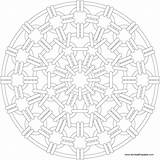 Mandala Chain Mail Coloring Fantasy Patterns Doodly Printable Adult Sm Colouring Doodle Mandaly sketch template