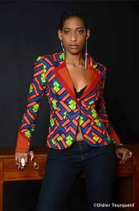 Pagné De Basket : veste wax femme veste pagne wax ~ Teatrodelosmanantiales.com Idées de Décoration