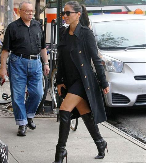 Outfit With Knee High Heel Boots