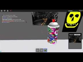 Spray for Decal ID Roblox Codes