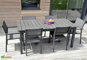 Table Jardin Composite : salon de jardin watson les cabanes de jardin abri de jardin et tobbogan ~ Teatrodelosmanantiales.com Idées de Décoration