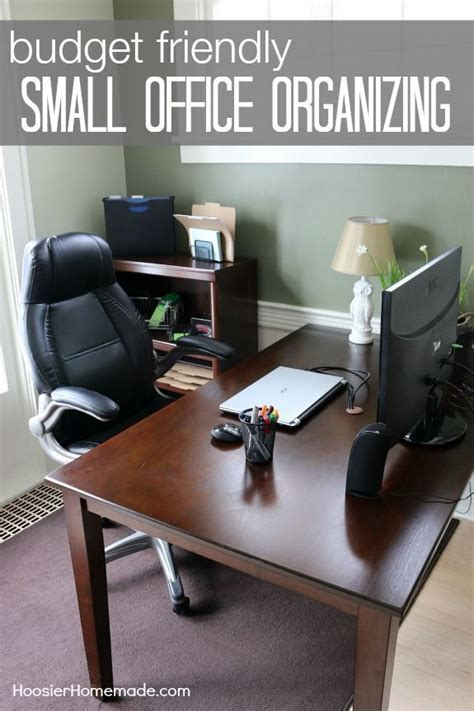budget friendly tips  organizing  home office home