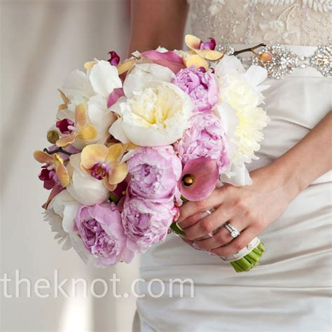 Gold And Magenta Bouquet