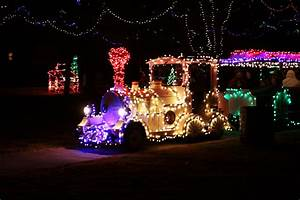 Control Christmas Lights Online New Train Comes To Christmas In The Park City Of Yukon