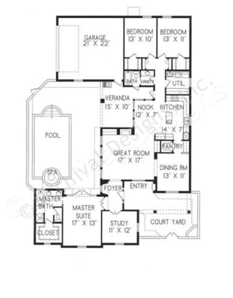 home plans with courtyard roseta courtyard house plans small luxury house plans