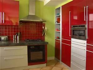 Orange Vert Quel Couleur : cuisine vert ~ Dallasstarsshop.com Idées de Décoration