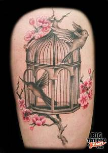 17+ best ideas about Bird Cage Tattoos on Pinterest | Cage ...