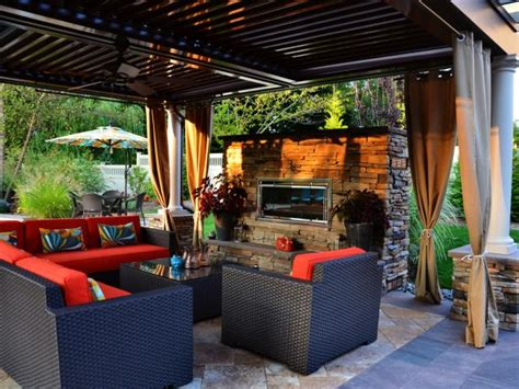 Budgeting An Outdoor Fireplace Hgtv