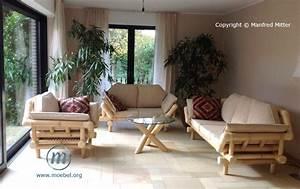 Möbel Für Wintergarten : bambusm bel sitzgruppen sofas sessel fauteuils tische aus bambus ~ Sanjose-hotels-ca.com Haus und Dekorationen