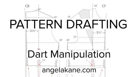 sewing patterns flat pattern drafting dart