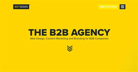 Web Marketing Agency by B2b Website Design B2b Marketing Agency Bop Design