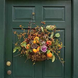 Fall, Door, Wreaths