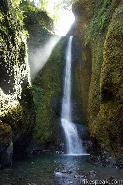 Oneonta Falls Lower Gorge Oregon Water Giphy