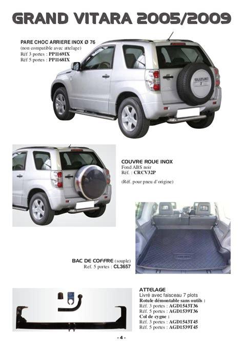 volume coffre grand vitara 5 portes suzuki 2010 par autoprestige accessoires 4x4
