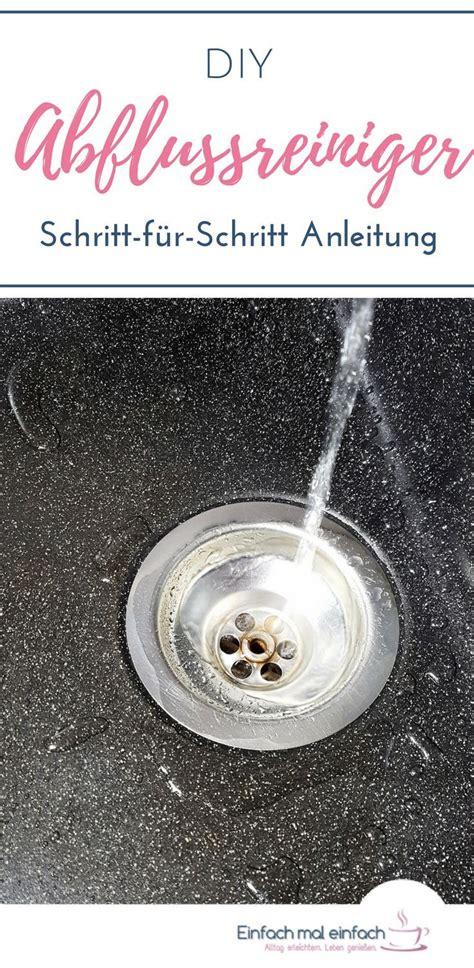 Verstopfter Abfluss Natron by Diy Abflussreiniger Haushalt Hausmittel K 252 Che Reinigen