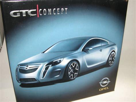 Gtc Conceptcar by Schuco Opel Gtc Concept Car 2007 Mattgrau Werbemodell 1 43