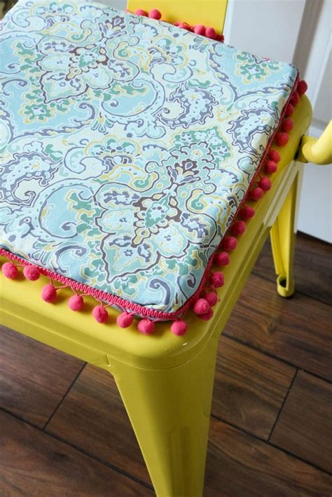 diy no sew reversible chair cushions waverly inspirations