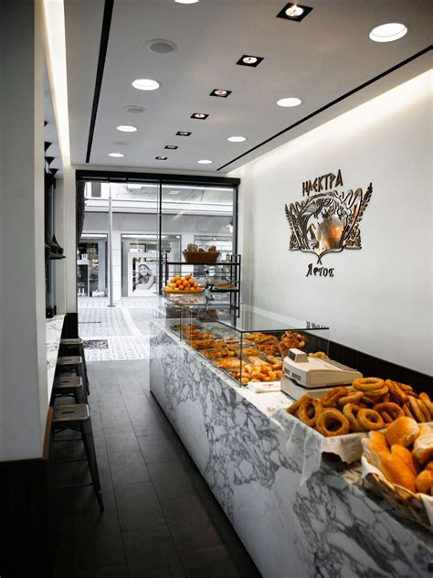 Of course, each coffee shop has its own characteristics in terms of design. » Container Student Housing   Cattani Architects   Bakery design interior, Bakery shop interior ...