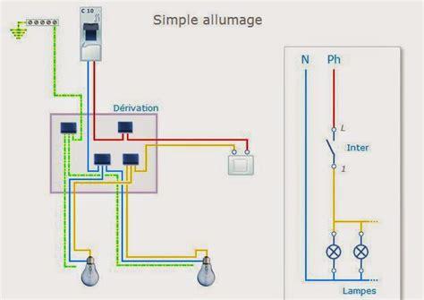 deux les sur un interrupteur installation electrique