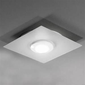 Plafonnier Design Led : plafonnier design led carr swan lampe plafond ~ Melissatoandfro.com Idées de Décoration