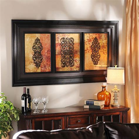 Kirklands Wall Decor - product details spiced up trio shadowbox in 2019 home