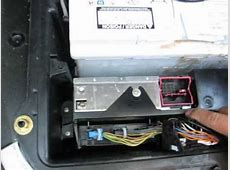 How to Remove Radio Tuner from BMW X5 2005 for repair