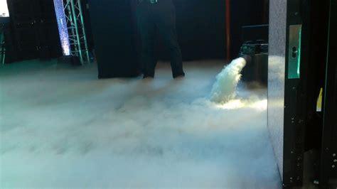 fog dry ice machine mega vision