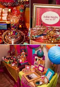 Vibrant & Exotic Bollywood 40th Birthday Party // Hostess