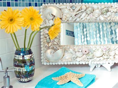 seashell bathroom decor ideas seashell bathroom decor ideas pictures tips from hgtv