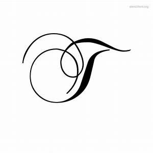Script Stencil Font | Stencil Font Org