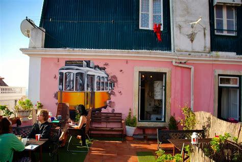 alfama patio hostel lisbon lisbon destination hostels review traveler s treasures