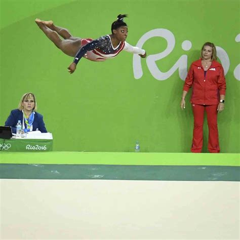 Biles Floor Routine 2016 by Your Win Gymnastics Gold Looks Like This