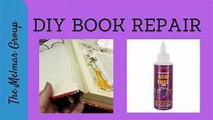 diy book binding and repair